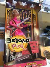 Nib 1998 Mattel Beyond Pink Barbie Doll With Cassette Tape 20017