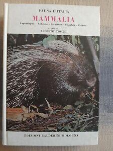 Fauna d'Italia  - Mammalia di  A.  Toschi