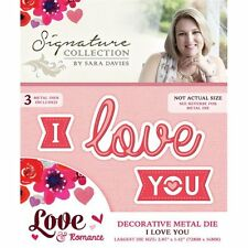 Je vous aime-crafter 's companion sara signature love & romance die