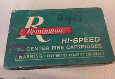 Vintage Remington Kleanbore 30-06 Bullet Box Empty Box