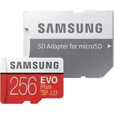 Samsung EVO Plus 256GB microSDXC Card 100MB/s + SD-Adapter Multimedia