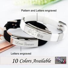 Personalized Name Free Engraved Bangle Custom Engraved Bracelet