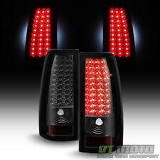 Smoke 1999-2002 Chevy Siverado GMC Sierra LED Tail Lights Brake Lamps Left+Right