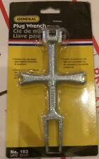 General Tools 193 Plug Wrench New