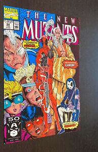 NEW MUTANTS #98 (Marvel 1991) -- 1st Appearance DEADPOOL -- F/VF to VF-