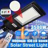 1900W-3500W LED Lampione Stradale Faro Pannello Solare Sensore Luce Telecomando