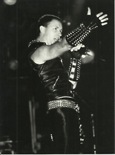 Photo   ROB  HALFORD   JUDAS  PRIEST   Format 18x24cm