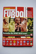 """Panini-Sammelalbum """"Fußball BL 2005/2006"""" komplett mit allen Stickern"""