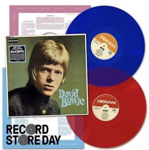 "DAVID BOWIE ""DAVID BOWIE"" 2 lp limited coloured vinyl  RSD sealed"