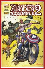 Zombies Assemble 2 ~ *Stan Lee Comic Box Exclusive 2017 Variant ~ Rare! ~ Hulk