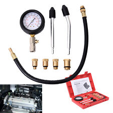 Automotive Petrol Gasket  Engine Cylinder Compression Tester Gauge Auto Tool