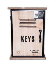 SCHL�œSSELSCHRANK 6 Haken Holz Schlüsselkasten Schlüsselboard Schlüsselbrett 54