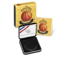2020 P Basketball HOF Proof SILVER Dollar Coin Box and COA ONLY - NO COIN