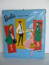 * VINTAGE 1961 *+* BARBIE *+*  DOLL CASE 'Light Blue'