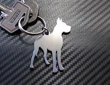 GREAT DANE Dog Breed Breeder Harlequin Keyring Keychain Key Stainless Steel