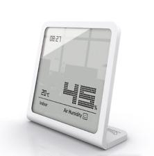 Termómetro Higrómetro Humedad medidor temperatura LCD Digital Reloj De Sala De Interior