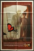 BUTTERFLY Sexy! Pia Zadora Orson Welles 1982  ONE 1-SHEET MOVIE POSTER  27 x 41