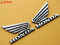 Tank Fairing Chrome ABS Emblems Decals Stickers for Honda Wing Motorcycles MT
