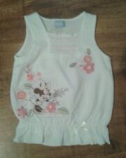 Girls Disney Mini Mouse Summer Top Age 3-6 Months