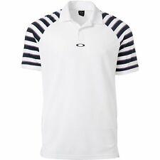 Oakley Golf Uniform Men's Polo Shirt 457990 - White - Pick Size!