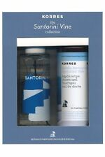 Korres Santorini Vine Eau de Cologne Spray 100ml Shower Gel 250ml Womens