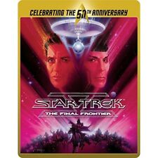 Limited Edition 50th Anniversary BLURAY Steelbook Star Trek 5 The Final Frontier