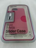 Incase Crystal Meta Slider Case for Apple iPhone 5 and 5s Raspberry Pink CL69122