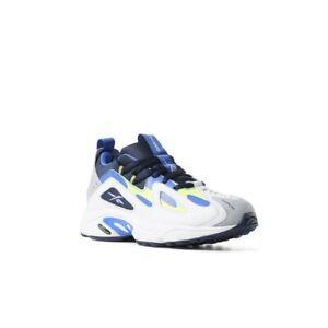 Reebok DMX Series 1200 (White Neon Lime/Cobalt/Grey) Men's Shoes CN7119