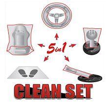 75pc coche limpio Set-Juego De 5 interior coche Kit De Protección X 25-Gran Valor