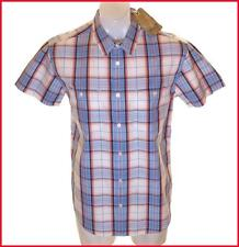 Hommes Authentic Wrangler Chemise Manche Courte Grand Coupe Standard