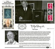 6 JUNE 2007 40th ANNIV MACHIN PANE SIGNED PEYTON SKIPWITH BENHAM FIRST DAY COVER