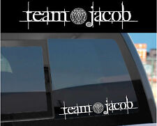 """Team Jacob"" Sticker Decal for Twilight Wolf Pack lovers! w/ Tattoo design too!"