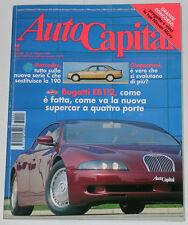 AUTOCAPITAL 5/1993 BUGATTI EB 112 – FORD MUSTANG – INNOCENTI MINI T LEGNO