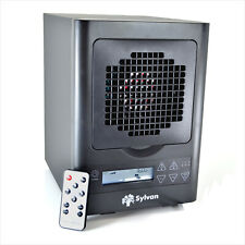 Rufurb Black Air Purifier Hepa Uv Ionizer Ozone Sterilizing Generator Filter