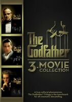 The Godfather Collection: Parts 1 / 2 / 3 (3 Disc) DVD NEW