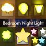 3D LED Lighting Control Night Light Wall Desktop Baby Kids Room Nursery Lamp EU