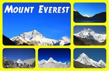 MOUNT EVEREST - RECUERDO ORIGINAL IMÁN DE NEVERA - MONUMENTOS / CIUDADES