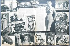 ►CLIPPING - COUPURE DE PRESSE : DOMINIQUE WILMS   - 1957