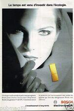 Publicité advertising 1993 Electroménager Refrigerateur Bosch