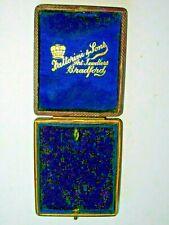 Medal Box Fattorini Bradford