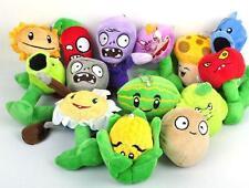 "Wholesale 6"" Plants VS Zombies Soft Plush Toy With Sucker A full  14 pcs/set hot"