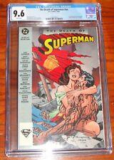 SUPERMAN Death of Superman #nn D.C Comics (CGC 9.6) WHTE PAGES TPC MINT Case