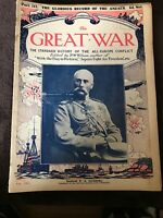 Early Vintage WW1 Magazine - The Great War - Issue / Part 113 October 14th 1916
