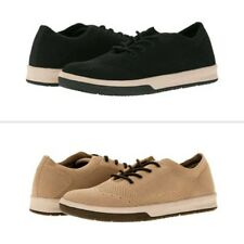 George Men's Black or Tan Memory Foam Lace-up Casual Sneakers/Shoes: 7-13