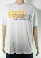 Armani Exchange Men T-Shirt Classic White Size Large L Graphic Logo Tee $50- 297