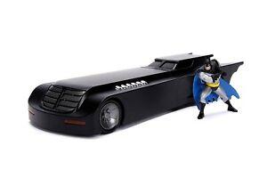 Modèle Batmobile Série Animée 20cm Batman Figure 1/24 Die Cast Dc Comics Jada