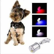 LED Pet Dog Collar Cat  Night Light Safety Clip Keychain Pendant Light Useful