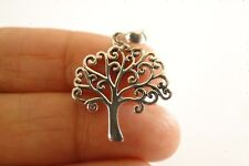 Small Tree of Life No Stone Sterling Silver Pendant