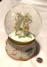 Vintage Ballet Slippers Snow Globe Music Box San Francisco Moonlight Sonata
