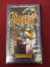 Dark Crystal VHS Video Cassette - Jim Henson